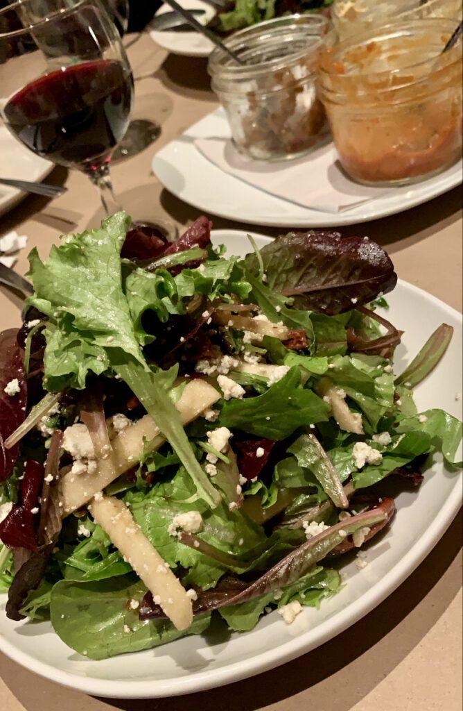 salát restaurace Dee's