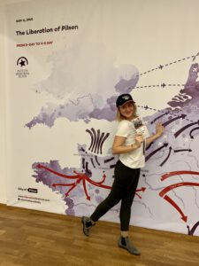 výstava 75. výročí osvobození Plzně